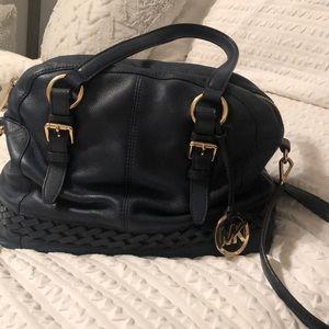 Navy Blue Michael Kors Crossbody Bag